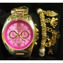 Relógio Feminino Mk Atacado 10 Peças R$ 450,00