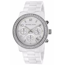 Relógio Michael Kors Mk5188 Ceramica Branco Lindo Frtegrátis