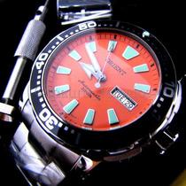 Orient Poseidon Automático Laranjado 469ss040 Mergulho 300m