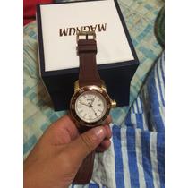 Relógio Magnum, Novo Ma Caixa 2 Meses De Uso. (aceito Troca)