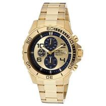 Relógio Invicta Signature Cronografo 7392 Plaque Ouro Leilão