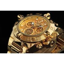 Relógio Invicta 14497 Subaqua Noma 4 Iv Banhado A Ouro 18k