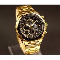Relógio Casio Edifice Ef-539 Cronógrafo Wr100 Ef539 Original