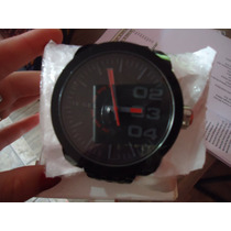 Relógio Masculino Die Z.el Preto Gigante Novo 100% Original