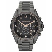 Relógio Michael Kors Mk8255 Bradshaw Cronógrafo Chumbo