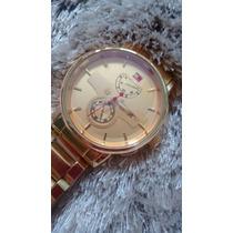 Relógio Tommy Hilfger Dourado