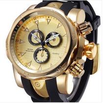 Relógio Masculino Lançamento Original Marca Shhors