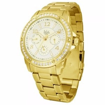 Relógio Feminino Dumont Dourado - Sz85194x