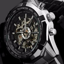 Relógio Winner Automático Masculino Pronta Entrega Barato