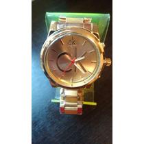 Relógio Calvin Klain Dourado