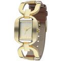 Relógio Analógico Nimes Eu2035fgu/2m - Marrom Euro