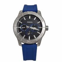 Relógio Fossil Bq1060 Pulseira Silicone Linha 2015 Promoção