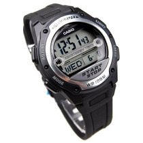 Relógio Casio W-756-1av Multifunção Leve Elegante Charmoso