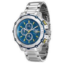 Relógio Seculus Masculino Cronógrafo 20245gosvna1 - Aço