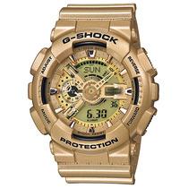 Relogio Casio G-shock Ga-110 Gd-9ad 5 Alarmes H.mundial 200m