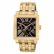 Relógio Technos Quadrado Legacy 6p29yo/4m Fundo Preto