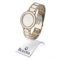 Relógio Bulova Feminino Original 1 Ano De Garantia