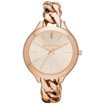 Relógio Luxo Michael Kors Mk3223 Analógico & Ouro Imaculado!