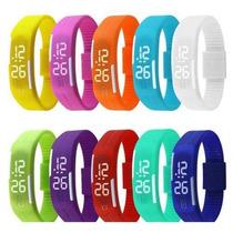 Kit 10 Peças Atacado Relógio Nike Led Watch Diversas Cores
