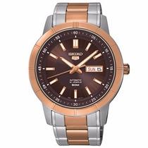 Relógio Seiko 5 Automático 21jewels Snkn60b1 W1sk - Original