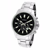 Relógio Masculino Prata Citizen Tz20448t Cronógrafo