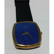 Relógio Piaget Em Ouro 18kt Lápis Lazúli Impecável