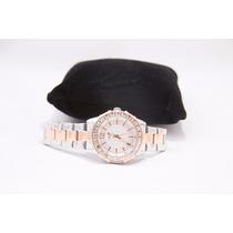 Relógio Guess - Aço Escovado - Legítimo (importado) 12x S/j.