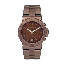 Relógio Michael Kors Mk5519 - Marrom Chocolate - Original