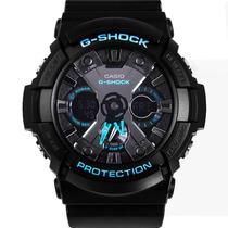 Relógio Masculino Digital Analógico G-shock Ga-201 20 Atm