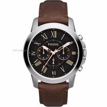 Relógio Masculino Fossil Grant - Fs4813 ( Nota Fiscal )