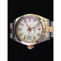 Rolex Relógio Ouro E Aço