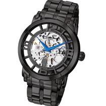 Relógio Stuhrling Original Preto Aço Automático Importado