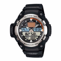 Casio Outgear Sgw-400hd Sgw400 Sgw400 Borracha - Original
