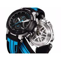 Relógio Tissot T-race Moto Gp Preto Original 12x Sem Juros