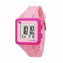 Relógio Feminino Digital Esportivo Xgames Orient Rosa
