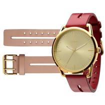 Relógio Troca Pulseiras By Gloria Coelho Eu2035lra/2r Eur