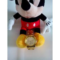Relógio Barato Dourado Michael Kors Exclusivo Luxo Importado