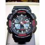 Relógio Casio Masculino G Shock Anti Magnetic Assista G100