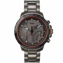 Relógio Timex Iq Linear Indicator Chronograph T2p273pl/ti