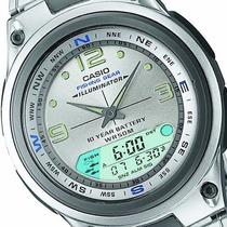 Relogio Casio Aw-82 Grafico De Lua E Pesca 100% Novo Origina