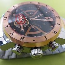 Relógio Masculino Prata Com Rose Fundo Preto