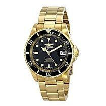 Relógio Invicta Automático Banhado A Ouro 18k - Frete Grátis
