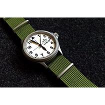 Pulseira Nato Strap 24mm, James Bond 007, Military Watch
