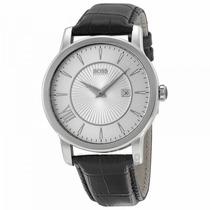 Relógio Hugo Boss Pulseira De Couro Preta - 1512839