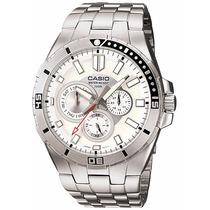 Relógio Masculino Casio Diver Mtd 1060d Analógico Importado