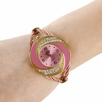 Relógio Bracelete Feminino Moderno Exclusivos Cris Imports