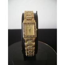 Relógio De Pulso Feminino Em Plaquê De Ouro Bucherer