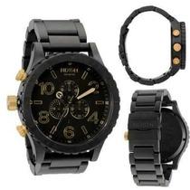 Relógio Nixon 51-30 Preto/dourado