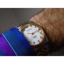 Relógio Technos Diamond Quartz Modelo Presidente