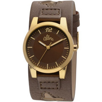 Relógio Allora Feminino Marrom Al2035et/2m Novo Original.